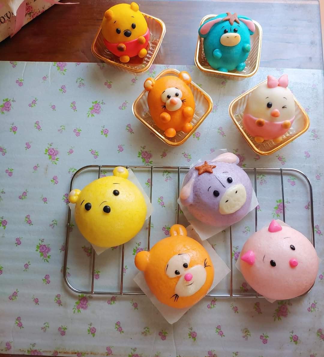 20 mẫu bánh bao tạo hình đẹp, nhìn cưng xỉu, chị em nào cũng cần lưu lại ngay