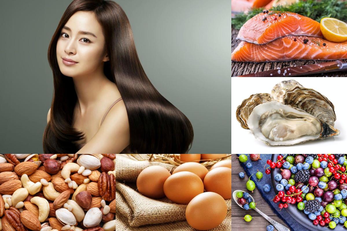 7 loại thực phẩm tốt nhất giúp mái tóc khỏe đẹp, mượt mà