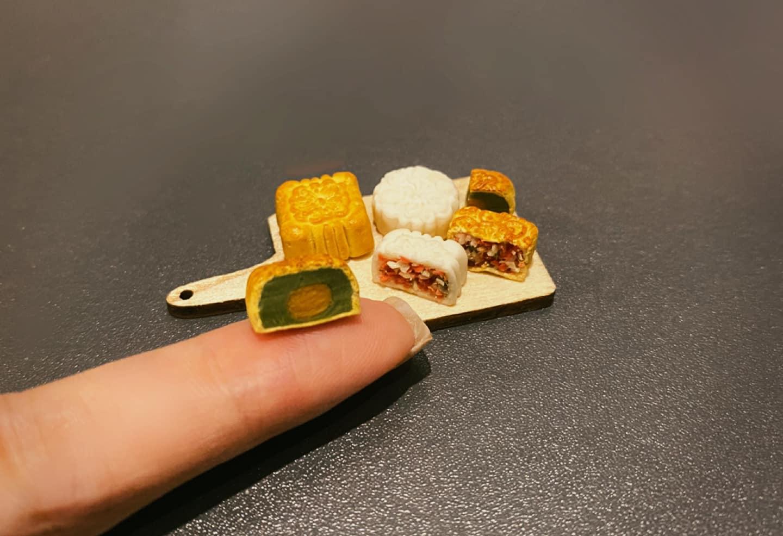 Bánh trung thu mini handmade: Nhìn thôi cũng đủ mê nhưng muốn ăn thì hơi khó