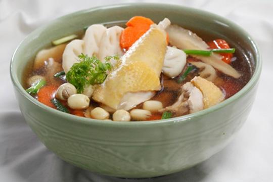 Các món canh hầm của người Hoa thơm ngon, có lợi cho sức khỏe