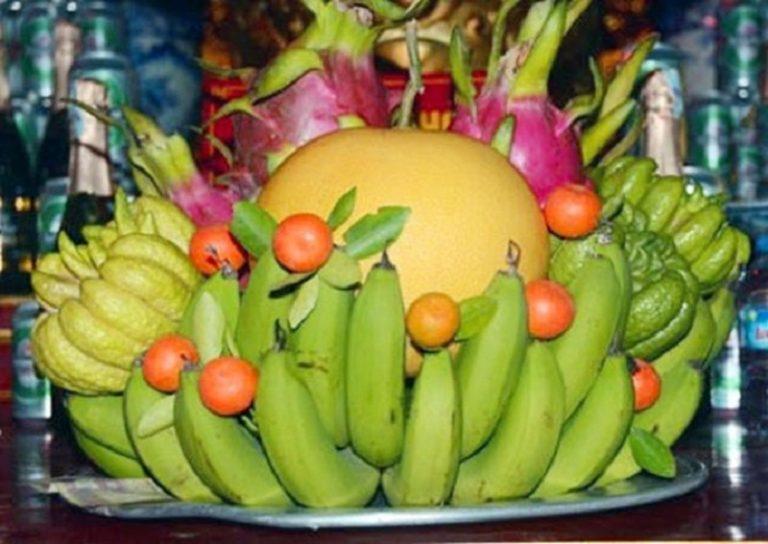 Cách chọn hoa quả thờ tết