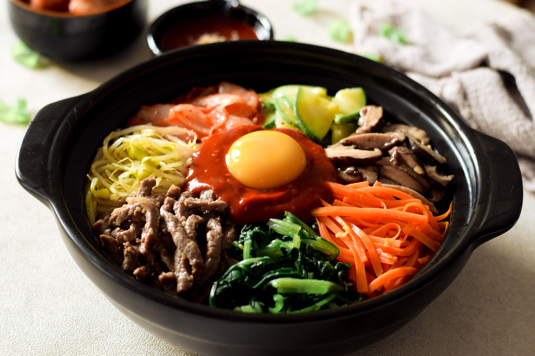 Cách làm Bibimbap đơn giản, chuẩn vị Hàn Quốc, ăn vào mùa đông cực hợp