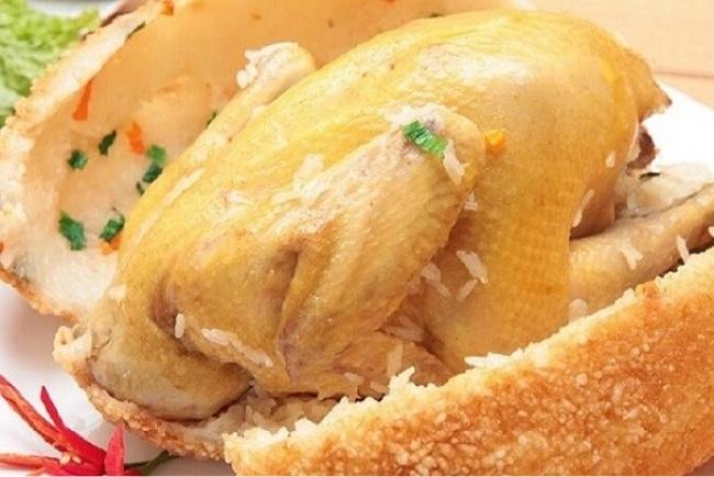 Cách làm gà bó xôi đơn giản tại nhà không phải ai cũng biết