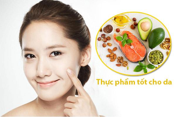 Lên thực đơn ăn uống cho da bị mụn hiệu quả và hết mụn nhanh chóng nhất