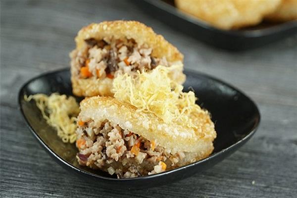 Công thức làm xôi chiên nhân thịt chuẩn vị, thích hợp ăn vào ngày se lạnh