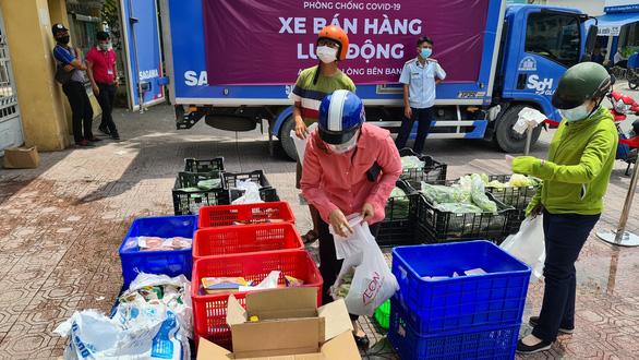 Hà Nội: Cửa hàng thực phẩm lưu động phục vụ người dân, đảm bảo thực hiện giãn cách