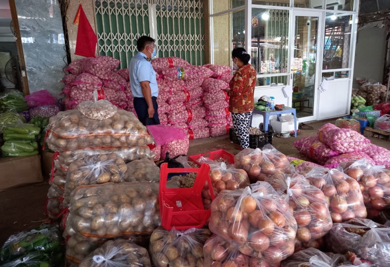 Nhập lậu 4,2 tấn tỏi Trung Quốc, đưa vào miền Nam tiêu thụ