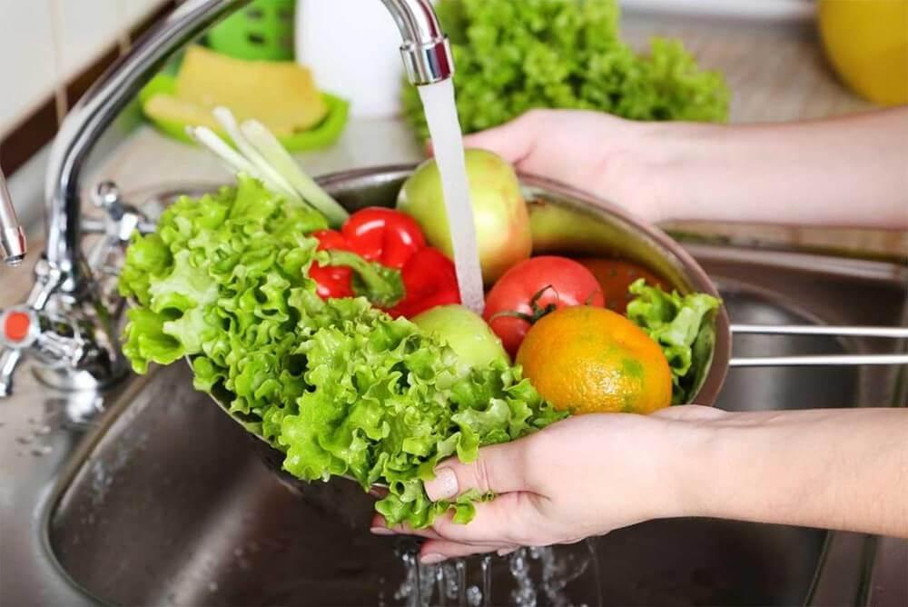 Rửa đúng cách sẽ giúp tăng thời gian bảo quản thực phẩm trong mùa dịch