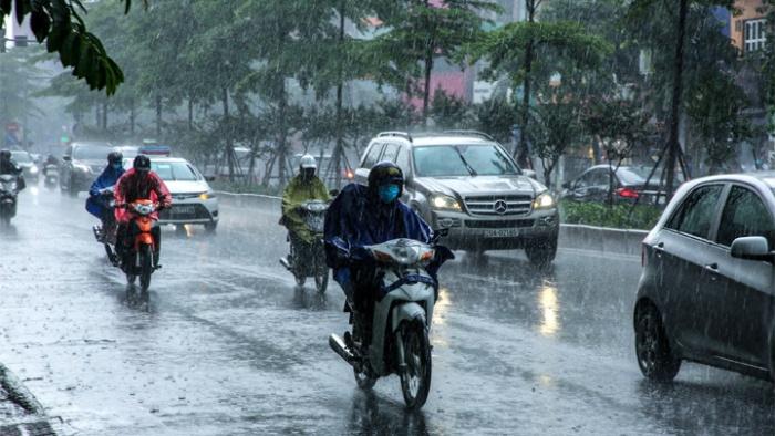 Dự báo thời tiết hôm nay 27/8/2021: Hà Nội có nơi mưa to đến rất to