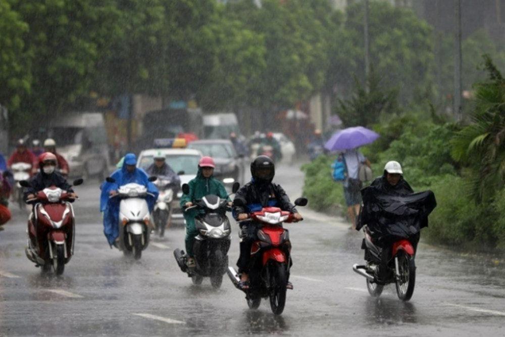 Thời tiết ngày 11/8: Hà Nội tiếp tục mưa to trên diện rộng và mát mẻ đến hết ngày 12/8