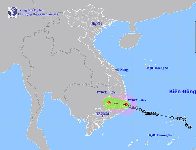 Tin áp thấp nhiệt đới: Áp thấp nhiệt đới di chuyển theo hướng Tây Tây Bắc