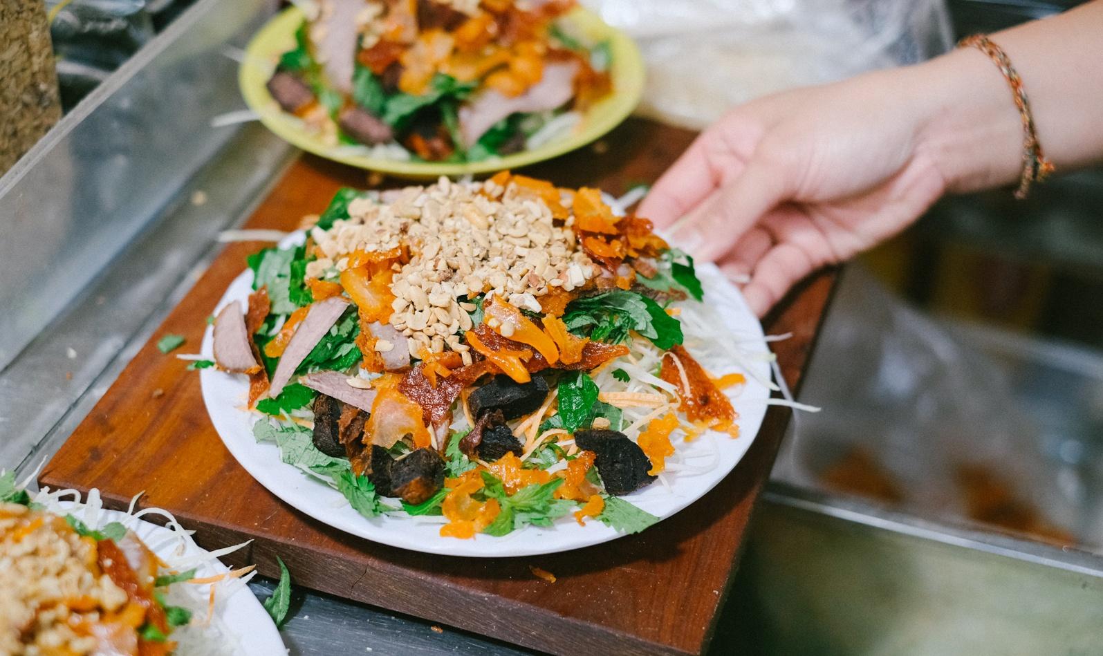 Top 5 quán nộm bò khô ngon nhất ở Hà Nội
