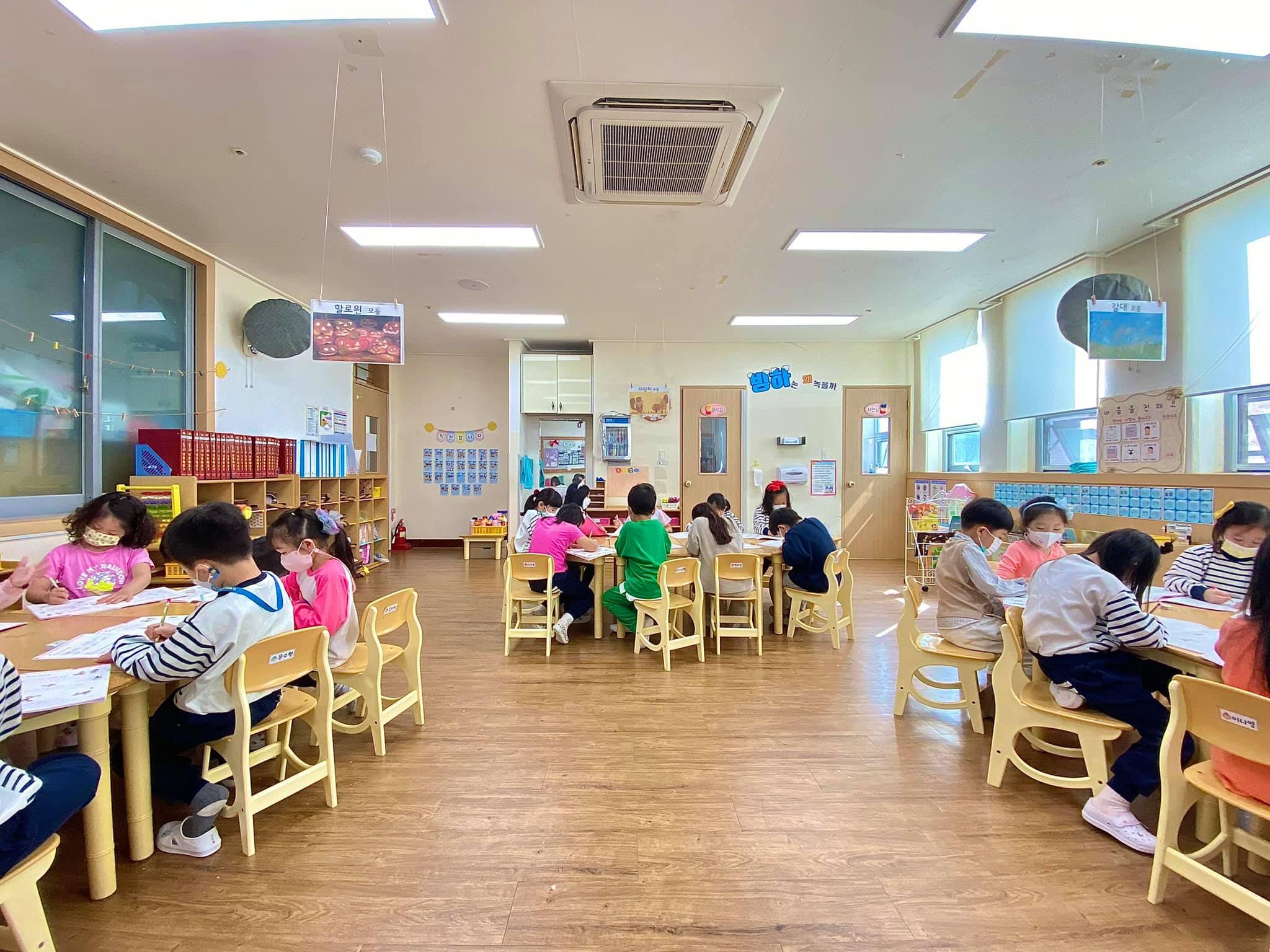 Trải nghiệm 1 ngày ở trường mầm non Hàn Quốc và những bữa ăn tại đây