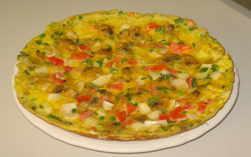 Trứng chiên cà chua đậm đà đưa cơm