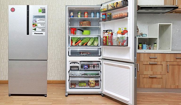 Review tủ lạnh Panasonic chi tiết giá bán và thông số kỹ thuật