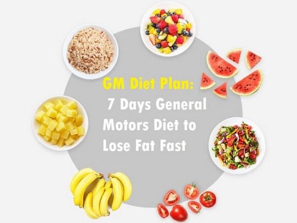 Xây dựng thực đơn giảm cân 7 ngày nghiêm ngặt cùng chế độ General Motor Diet (GM)