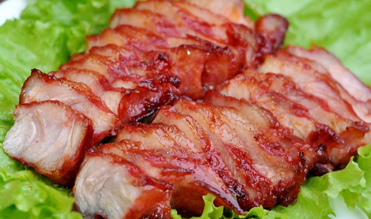 Thịt nướng lên có màu sắc bắt mắt