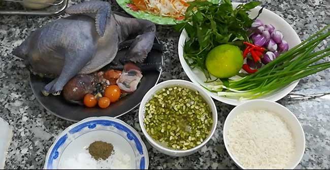 cách nấu lẩu cháo gà ác – Myquang.vn   Món Miền Trung